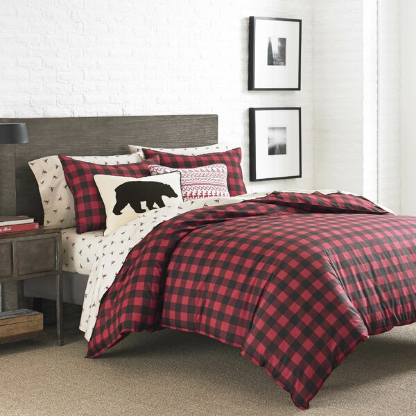 Mountain 100% Cotton Reversible Duvet Set by Eddie